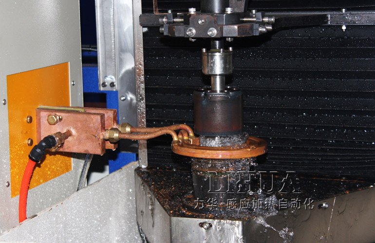 Induction Hardening Of Idler Shaft