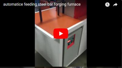 Automatice feeding steel bar forging furnace